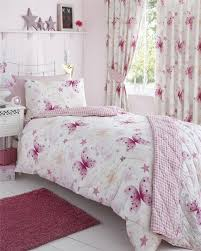 Buy Bedding Sets by Girls Bedding Sets With Matching Curtain Using Tieback In White