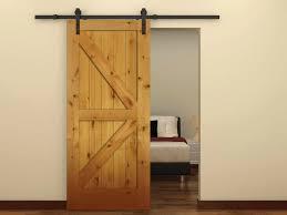 Wooden Barn Door by Barn Door Sliders Types U2014 Home Ideas Collection