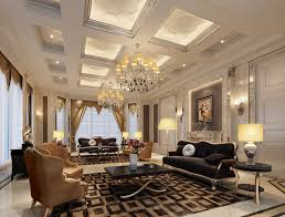 Inside Of House by Chandeliers With Crystals To Sparkle Your Living Room