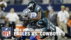 eagles vs cowboys week 9 highlights nfl