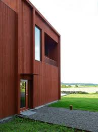 bornstein lyckefors architects builds red cabin retreat for
