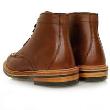 bass weejuns apron pull up dark brown leather boot