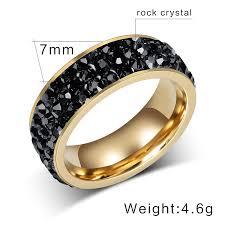blue rock rings images Wedding rings silver black blue green pink red crystal for women jpg