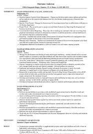 Obiee Business Analyst Resume Business Analyst Resume Samples And Sales Operations Analyst Resume Samples Velvet Jobs
