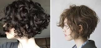 Weibliche Kurzhaarfrisuren 2017 by Kurzhaarfrisuren Weibliche Frisur Für Lockiges Gewelltes Haar