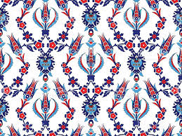 Ottoman Design Ottoman Turkish Design Pattern Vector Stock Vector More