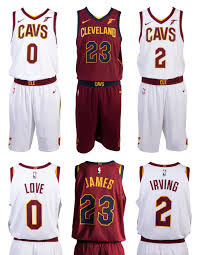 cleveland cavaliers unveil new nike uniforms for 2017 18 nba