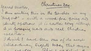 christmas truce letter revealed bt