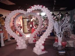 wedding arches and columns beautiful balloon arch heart shape balloon arch www