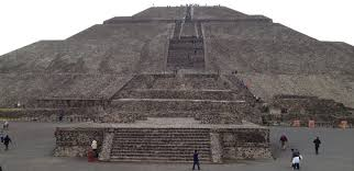 Teotihuacan Mexico Map by Tenochtitlan