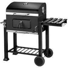 fumoir cuisine barbecue grill fumoir smoker américain au charbon de bois en noir