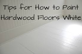 diy how to paint wood floors white revisited house updated