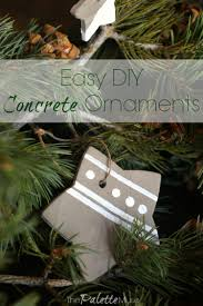easy concrete ornaments you can diy in a weekend the palette muse