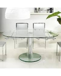 Oval Glass Dining Room Table Slash Prices On Home Thao Collection Small Glass Extendable Dining