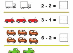 kindergarten subtraction worksheets u0026 free printables education com