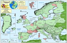 Bulgaria On World Map by Europe On World Map Roundtripticket Me