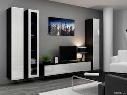 Wohnzimmerverbau Modern Wohnwand Ohne Tv Element Elegant Wohnwand Zumba Zmbmlbpf Bild