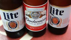 miller lite vs bud light all the beer you drink is owned by one company