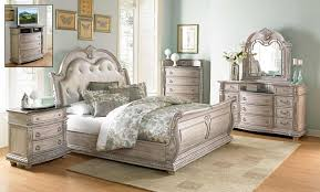 Bedroom Set Homelegance Palace Ii Bedroom Set Weathered White Rub Through