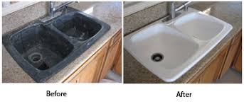 Sink Reglazing Pronto Refinish - Reglazing kitchen sink