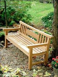 Simple Wooden Park Bench Plans by Diy English Garden Bench An Elegant Yet Traditional Piece This