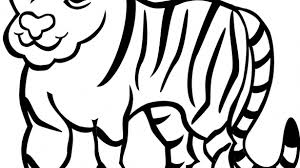coloring page tigers tiger coloring page free printable pages for kids ribsvigyapan com
