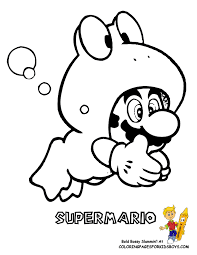 super mario printable coloring pages kids coloring