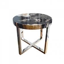 petrified wood end table petrified wood with clear cracked resin pw45 petrified wood woods