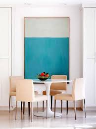 Artwork For Dining Room Big Appetite 20 Dining Rooms With Large Scale Large Scale
