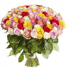 multicolored roses bouquet of 101 multicolored roses 80 90cm доставка цветов кишинев