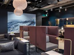 Lounge Design by Business Class Lounge At Oslo Airport Gardermoen Designed By