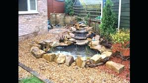 diy pondless waterfall backyard waterfall kit how to build pond