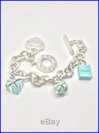 tiffany charm bracelet with charms images Return to tiffany co silver toggle charm bracelet w three enamel jpg