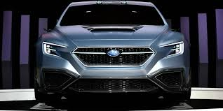 subaru viziv 7 viziv performance concept revealed