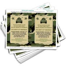 free printable camo wedding invitation templates u2013 wedding