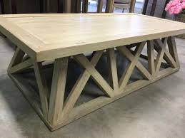Trestle Coffee Table Trestle Coffee Table Discontinued Rustic Charm Interiors