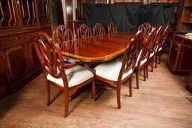 Ideas For Hepplewhite Furniture Design Regency Pedestal Table Set Hepplewhite Dining Chairs Suite