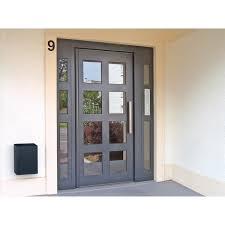 Porte Entree Grande Largeur Porte D U0027entrée D U0027immeuble Gamme Sécurité Renforcée Clarté Cibox
