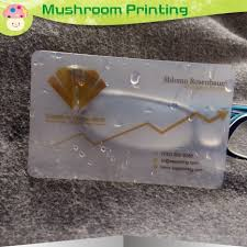 Translucent Plastic Business Cards Online Buy Wholesale Plastic Transparent Business Cards From China