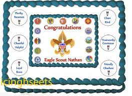edible sheets eagle scout cake cub scout cake edible icing sheets boy scout cake