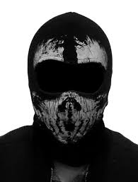 modern warfare 2 ghost face mask 3d outdoor sports hunting bicycle cycling motorcycle skull ghost