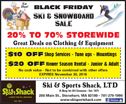 black friday snowboard deals ski and sport shack in stoneham ma
