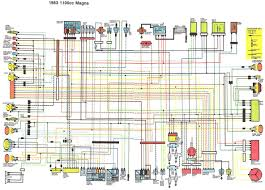 1986 honda shadow vt1100 wiring diagram data set