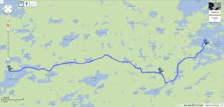 Bwca Map Boundary Waters Canoe Area Superior Footprints