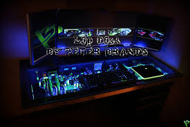 gaming desks uk ultimate custom water cooled gaming desk pc mod crazy gaming pc