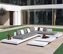 canapé de jardin design salon de jardin design pas cher mobilier de jardin pas cher en