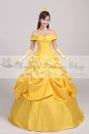 Halloween Belle Costume Free Shipping Belle Costume Princess Belle Beauty