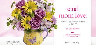 mothers day delivery reward this s day with a bouquet from teleflora
