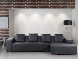 sofa schwarz sofa schwarz leder couch ecksofa l sofalandschaft