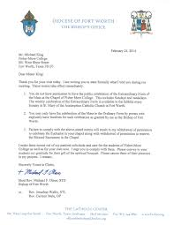 Sample Intent To Marry Letter by Bishop Olson Threatens To Hold Jesus Hostage Aka Catholic